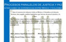 EN AGENDHA | Simposio Procesos paralelos de justicia y paz