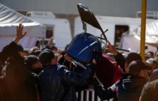 IMAGEN DEL DÍA | Protestan en albergue