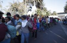 IMAGEN DEL DÍA | Migrantes abandonan CDMX y llegan a Querétaro