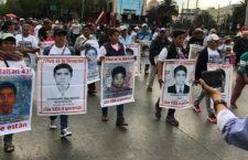 Ayotzinapa: Marcha en tres estados a 53 meses