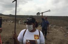 IMAGEN DEL DÍA | Colectivo Solecito ingresa a tramo del kilómetro 13.5 de Veracruz en busca de fosas