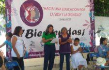 IMAGEN DEL DÍA | Durante encuentro de mujeres en Oaxaca recuerdan a Berta Cáceres