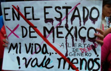 Llaman a redefinir estrategia contra feminicidios en Edomex