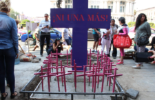 IMAGEN DEL DÍA | Con cruces rosadas concluye instalación de Antimonumenta en CDMX