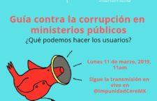 EN AGENDHA | Presentación de Guía contra la corrupción en los MP