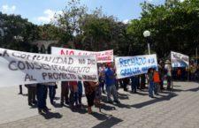 IMAGEN DEL DÍA | Veracruz: protestan por planta avícola sin permiso ambiental