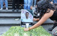 Claman justicia por asesinato del joven defensor Abiram