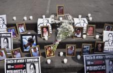 IMAGEN DEL DÍA | Protestan a 7 años del asesinato de Regina Martínez
