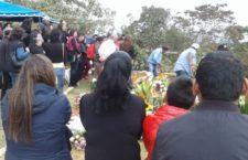 IMAGEN DEL DÍA | Dan último adiós al activista Abiram Hernández en Veracruz