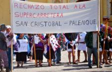 IMAGEN DEL DÍA | Habitantes de San Juan Cancuc rechazan construcción de autopista San Cristóbal-Palenque