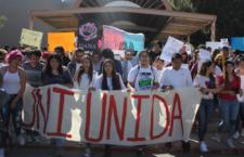 IMAGEN DEL DÍA | Estudiantes de la Universidad de Ciudad Juárez realizan paro por el asesinato de Dana Lizeth