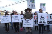 IMAGEN DEL DÍA | Vecinos de Xoco toman avenida contra Mítikah por tala de árboles en CDMX