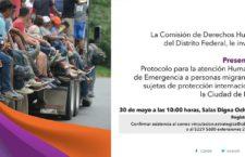 EN AGENDHA | Presentación de protocolo de atención a migrantes