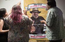 IMAGEN DEL DÍA | A dos años del asesinato de Javier Valdez, exigen encontrar autor intelectual