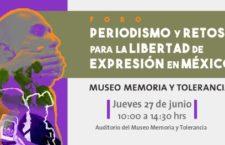 EN AGENDHA | Foro Periodismo y retos para la libertad de expresión en México