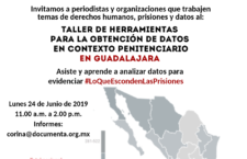 EN AGENDHA   Guadalajara: Taller de herramientas para la obtención de datos penitenciarios