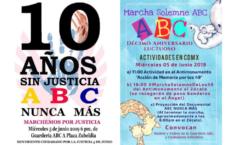 EN AGENDHA | Actividades por el 10 aniversario de Guardería ABC