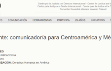EN AGENDHA | Vacante de comunicador/a para Centroamérica y México