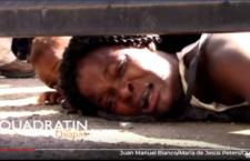 VIDHEO | Mujeres migrantes claman ayuda para sus hijos enfermos y con hambre en albergue del INM