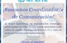 EN AGENDHA | Vacante de Comunicación en GFLAC