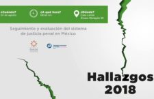 EN AGENDHA   Presentación #Hallazgos2018 del sistema de justicia penal en México