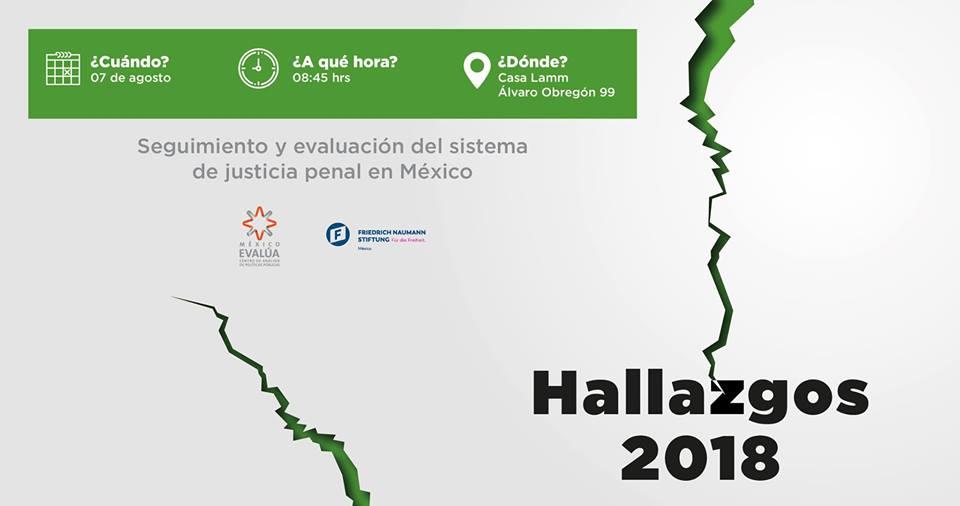EN AGENDHA | Presentación #Hallazgos2018 del sistema de justicia penal en México