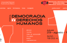 """EN AGENDHA   Feria """"Democracia y derechos humanos"""""""