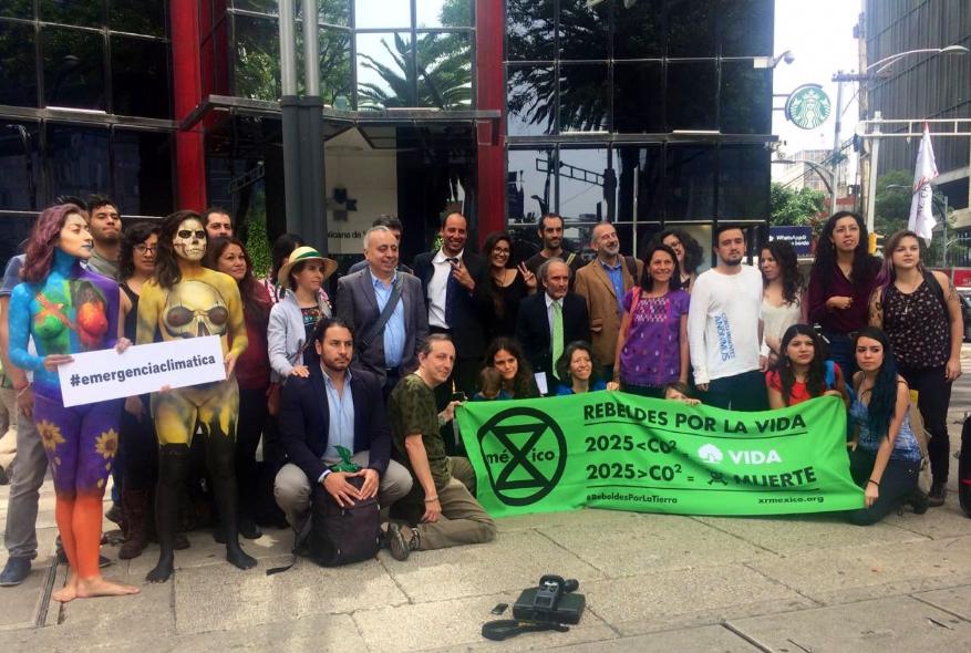 IMAGEN DEL DÍA | Denuncian responsabilidad de empresas en emergencia climática