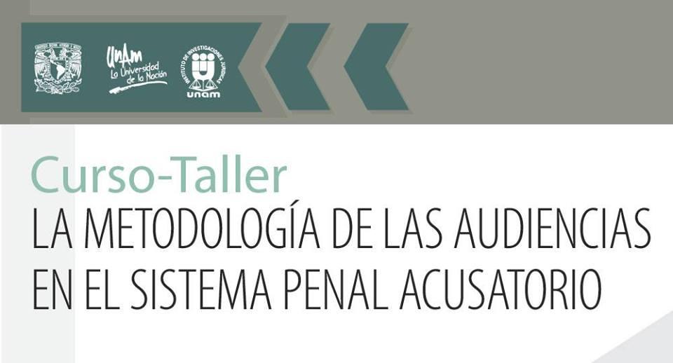EN AGENDHA | Taller: La Metodología de las Audiencias en el Sistema Penal