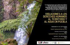 EN AGENDHA | Informe sobre violaciones al derecho al territorio y al agua en Puebla