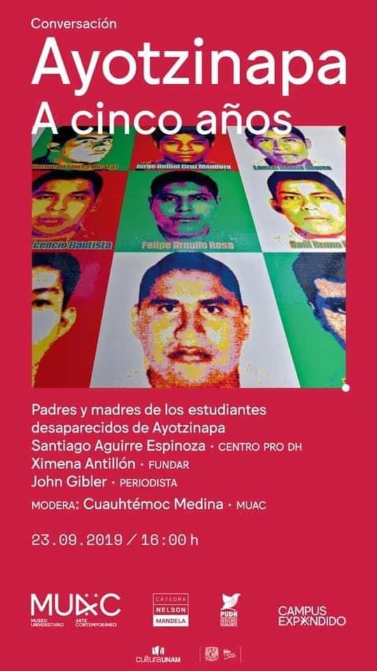 EN AGENDHA |  Conversatorio: Ayotzinapa a 5 años