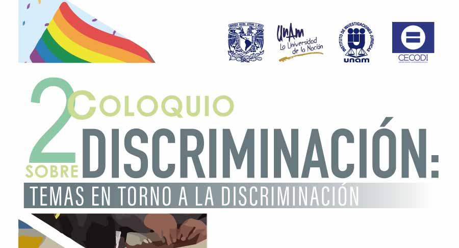 EN AGENDHA   2º Coloquio sobre discriminación
