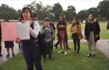 IMAGEN DEL DÍA   Exigen que trabajadores de la UNAM dejen de revictimizar y criminalizar a Lesvy