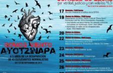EN AGENDHA | Ayotzinapa: Presentación de libros de John Gibler y Tryno Maldonado