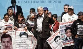 Hoy, encuentro de familias de Ayotzinapa con AMLO; expondrán fallas en la investigación
