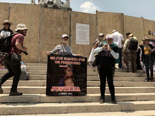 IMAGEN DEL DÍA | Marcha del silencio: mujeres marchan para exigir justicia contra feminicidios