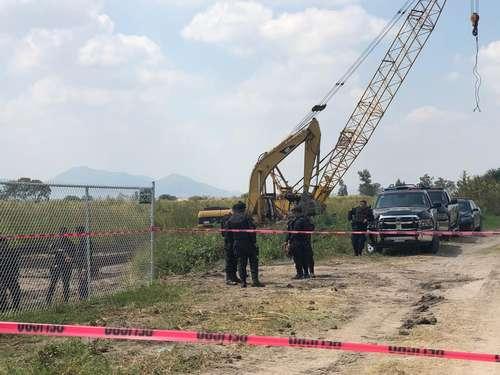 IMAGEN DEL DÍA   Desalojan a ejidatarios de Tlajomulco que se oponen a una obra hidráulica