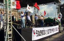 IMAGEN DEL DÍA | Exigen justicia por el 68 y Ayotzinapa