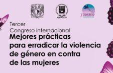 EN AGENDHA | Tercer Congreso Internacional Mejores prácticas para erradicar la violencia de género