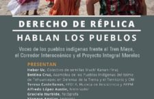 EN AGENDHA |  Presentación de informe sobre resistencias de los pueblos a megaproyectos