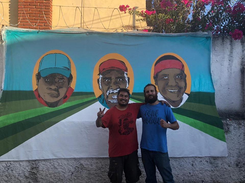 IMAGEN DEL DÍA   Mural para defensores rarámuri asesinados