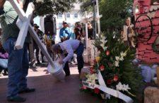 IMAGEN DEL DÍA | Exigen justicia para el defensor rarámuri Julián Carrillo a un año de su homicidio