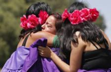 IMAGEN DEL DÍA | Caravana de mujeres contra los feminicidios en Ecatepec