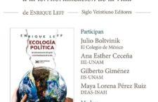 EN AGENDHA | Presentación del libro: Ecología política