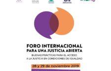 EN AGENDHA | Foro internacional para una justicia abierta