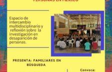 EN AGENDHA | Seminario itinerante sobre investigación en desaparición de personas