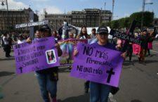 """IMAGEN DEL DÍA   """"¡Ni una más!"""", clama marcha contra feminicidios rumbo al Zócalo"""