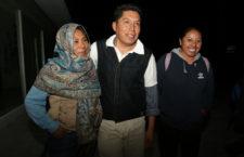 IMAGEN DEL DÍA | Liberan en Puebla a defensor de río Metlapanapa; seguirá proceso