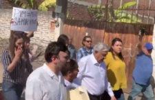 IMAGEN DEL DÍA | En Anenecuilco, protestan por termoeléctrica y por asesinato de Samir Flores