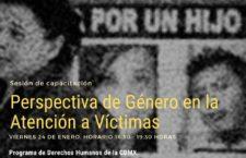 EN AGENDHA | Capacitación: Perspectiva de género en la atención a víctimas